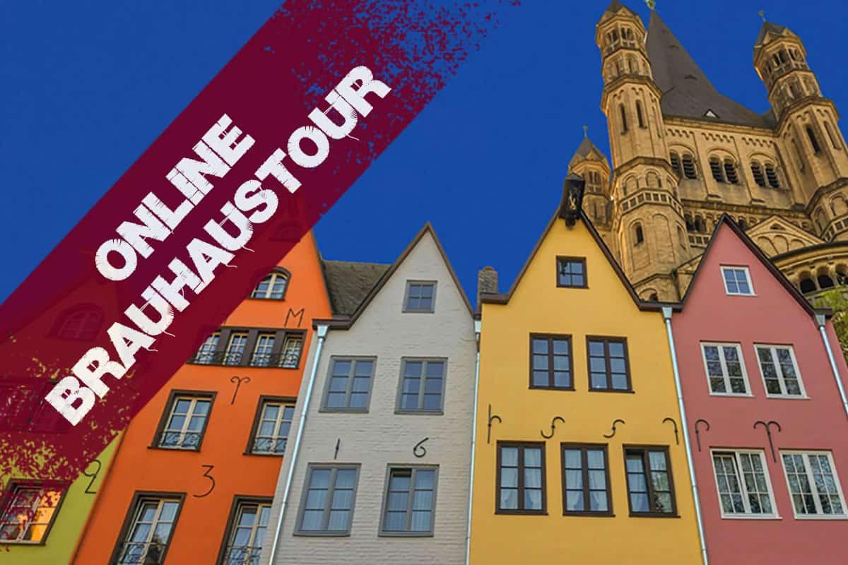 bunte Häuser in der Altstadt