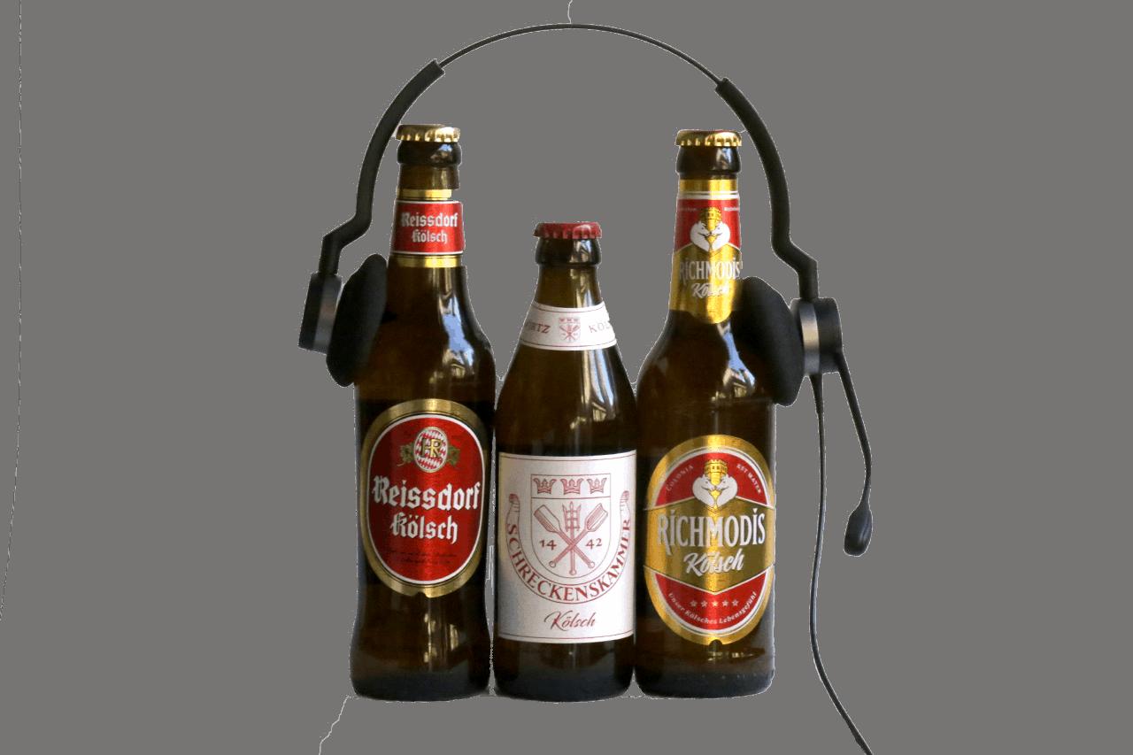 Kölsch mit Headset