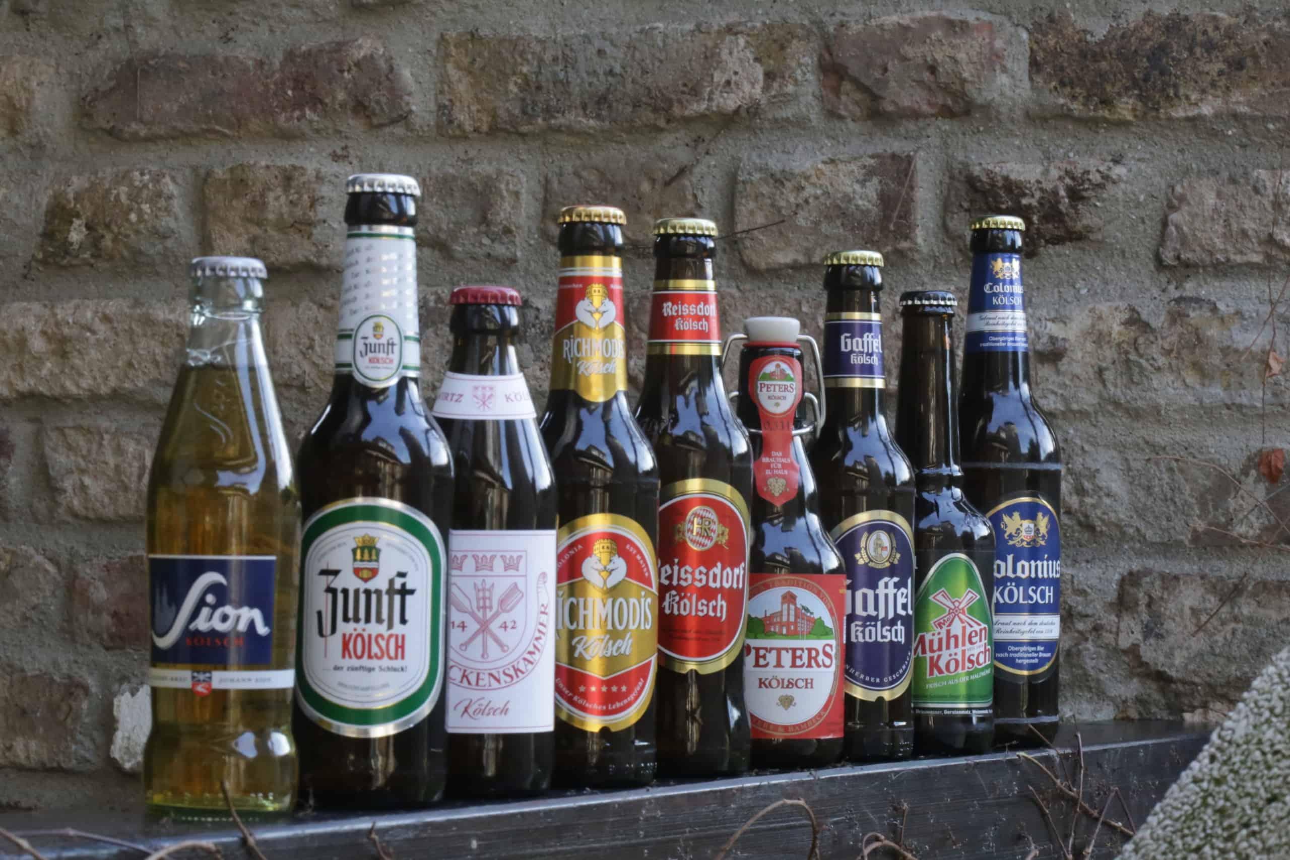 Kölsch Flaschen
