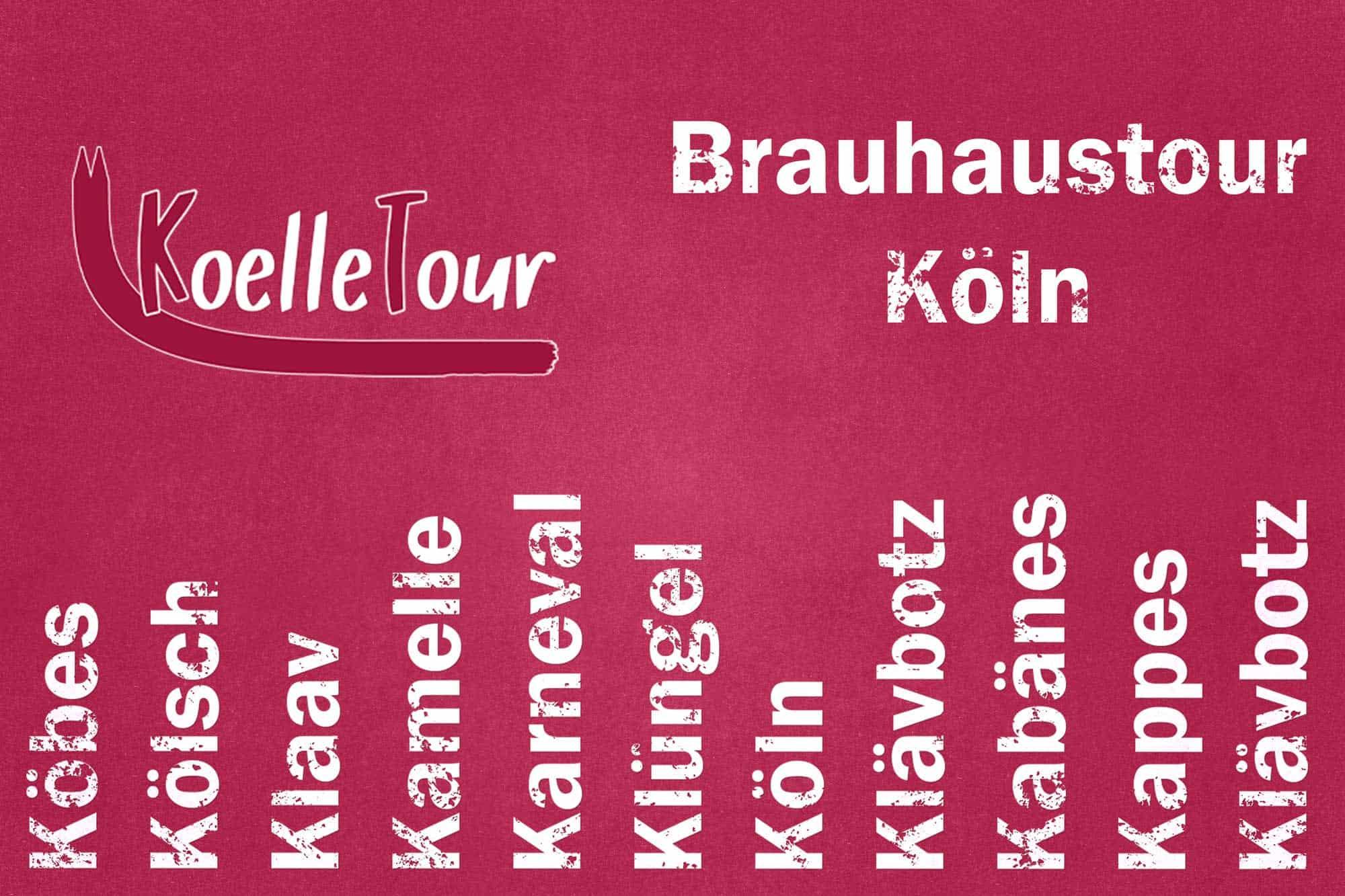 Brauhaustour Köln mit K
